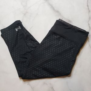 Under Armour cropped dot leggings